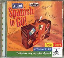 RXL Pulitzer Spanish to Go! CD-ROM for Windows 3.1 & 95 (SoftKey, 1996) NEW  #40