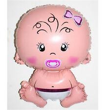Baby Girl Shower Helium Foil Balloon Christening Party Newborn Birthday Balloon
