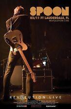SPOON 2020 FT. LAUDERDALE CONCERT TOUR POSTER - Indie Rock / Pop, Art Rock Music