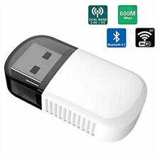 UK USB WiFi Adapter Wireless 5G/2 5G USB Bluetooth 4.2 Dual Band AC 600 Mbps