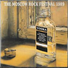 The Moscow Festival Rock 1989 CD Scorpions, Skid Row Ozzy Bon Jovi