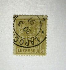LUXEMBOURG  Sc#57    USED  Cat $12    SEE PIC