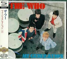 THE WHO MY GENERATION 2011 JAPAN RMST SHM CD +12 - BRAND NEW FACTORY SEALED!