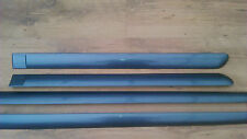 SET 4 PEUGEOT 307 SW 1.6 DOOR TRIM TRIMS BUMP RUB STRIPS GREY EZWD FACELIFT