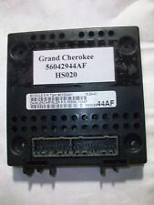 TESTED 2002 JEEP GRAND CHEROKEE BCM MODULE BODY CONTROL 56042944AF #HS020