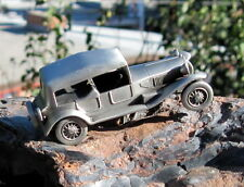 1980s Pewter Danbury Mint Classic Cars Collection 1928 Lancia Lambda Coupe Car