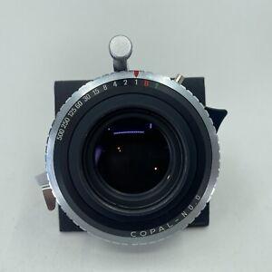 N.Mint Schneider-Kreuznach Xenar 150mm F/5.6 Copal No.0.0 Shutter From USA
