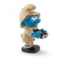 Figurine plastique Schtroumpfs (Les) Schtroumpf explorateur avec jumelles