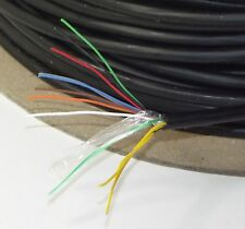 30 M Mulinello X dropwire No.14 - 4 Paio Overhead Esterno Cavo Telefonico BT SPEC