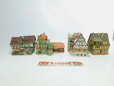 bm410-3 #4x Vollmer h0 Maison à ossature bois / de ville :