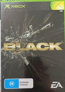 Black Video Game Xbox Original 2006 works on Xbox one FPS xbox 360 Free Post