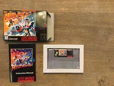 Mega Man X3 SNES CIB mint condition