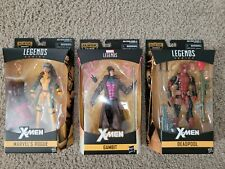Marvel Legends Deadpool, Rogue, and Gambit (X-Men)