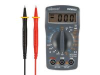 Multimétre Numérique 19 PLages 10 Ampéres Livre avec Cordons