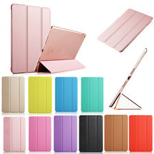 Slim Leather Case Smart Cover For Apple iPad 2/3/4 5th 6th 7th 8th Air Pro mini