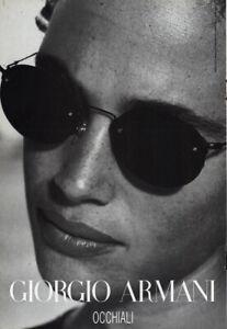 1996 Giorgio Armani: Occhiali Vintage Print Ad