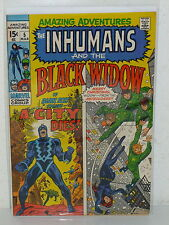 Amazing Adventures #5 - Black Widow Inhumans - (Marvel, 1971) Vf - Neal Adams