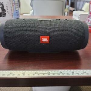 JBL Charge 3 Waterproof Portable Bluetooth Speaker (Black) READ!