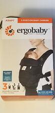 Ergobaby Adapt Baby Carrier, CoolAir Mesh, 3 Way, Newborn 2 Toddler, Onyx Black
