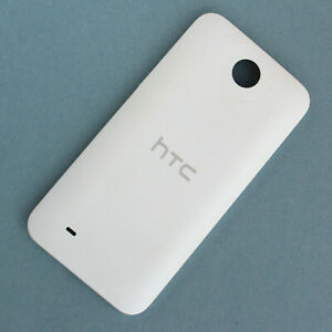 100% Genuine HTC Desire 300 310 rear battery cover White back housing shell