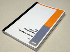 Case 750 Industrial Diesel Crawler Dozer Operators Manual Owners Maintenance NEW