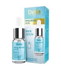 DELIA HYALURON ACID 100% ANTI-WRINKLE INSTANT LIFTING FACE NECK SERUM 10ml
