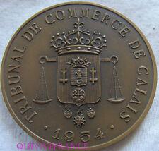 MED6027 - MEDAILLE TRIBUNAL DE COMMERCE DE CALAIS 1954
