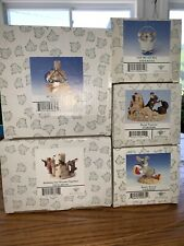 "Charming Tails ""Beach Bunny"" Dean Griff Fitz And Floyd Summer Beach Lot Of 5"