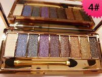 9 Diamond Colours Glitter Sparkle Eye-shadow Makeup Eye-shadow Set Palette-04-UK