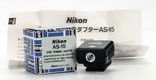 Nikon AS-15 Sync Terminal Adapter