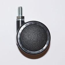 4x Möbelrolle 50mm M8 Gewinde Bodenrolle Lenkrolle Transportrollen Rollen