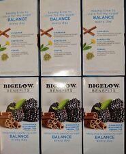 6 boxes Bigelow CINNAMON & BLACKBERRY Herbal Tea 18 Tea Bags Sugar Control