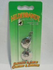 Hildebrandt Size 2 Double Idaho Spinners Nickel Trolling Fishing Lure