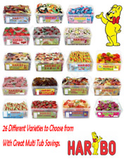 2 x Tubs, Haribo Great Multi Tub Discounts Great Range for Parties,Office,Gifts