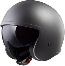LS2 Of599 Spitfire Motorcycle Open Face Urban Scooter Helmet M Matt Titanium