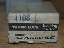 (10) Dodge Reliance Electric Manchon Taper Lock Bushing 1108