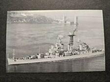USS GALVESTON CLG-3 Naval Cover unused postcard
