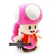 Super mario bros.. list of characters in the series of mario plush toad mushroom plush
