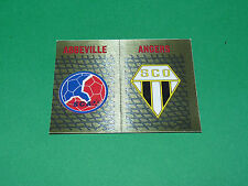 PANINI FOOTBALL FOOT 90 N°389 BADGES SCO ANGERS ABBEVILLE 1989-1990