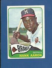 1965 Topps # 170 Hank Aaron  HOF  Milwaukee Braves  NM/MT - Additional ship free