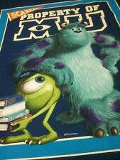 """Springs Licensed Cotton PANEL - MONSTERS UNIVERSITY Panel  Cotton Fabric 36"""""""