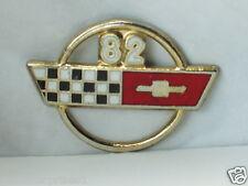 1982 Corvette Pin , Chevrolet Pins lapel Hat Tack ,(*)