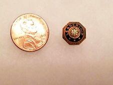 4H Leadership 4H TINY Bronze Vintage Lapel Pin