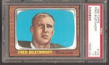 1966 Topps #101 Fred Biletnikoff Raider PSA 7 Near Mint