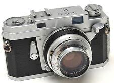 Konica III Rangefinder Camera with 48mm f/2 Lens