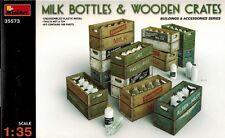 MiniArt 35573 Milk Bottles & Wooden Crates - Zubehör Kisten Flaschen - 1:35