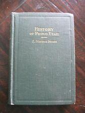History of Provo, Utah - J. Marinus Jensen  - Mormon Pioneers LDS Utah County