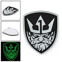 Glow Medal Of Honor 3D Moh King Neptune Tactical Airsoft 3D Pvc Hook Patch AU5