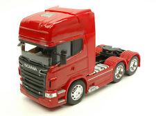 Scania R730 V8 (6x4) Rojo Camión 1:32 Modelo WELLY
