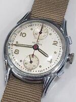 Vintage Helbros Chronograph Venus 170 Cal Hand Winding Men watch Swiss Made